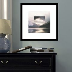 Amanti Art Reflected Landscape II Framed Wall Art