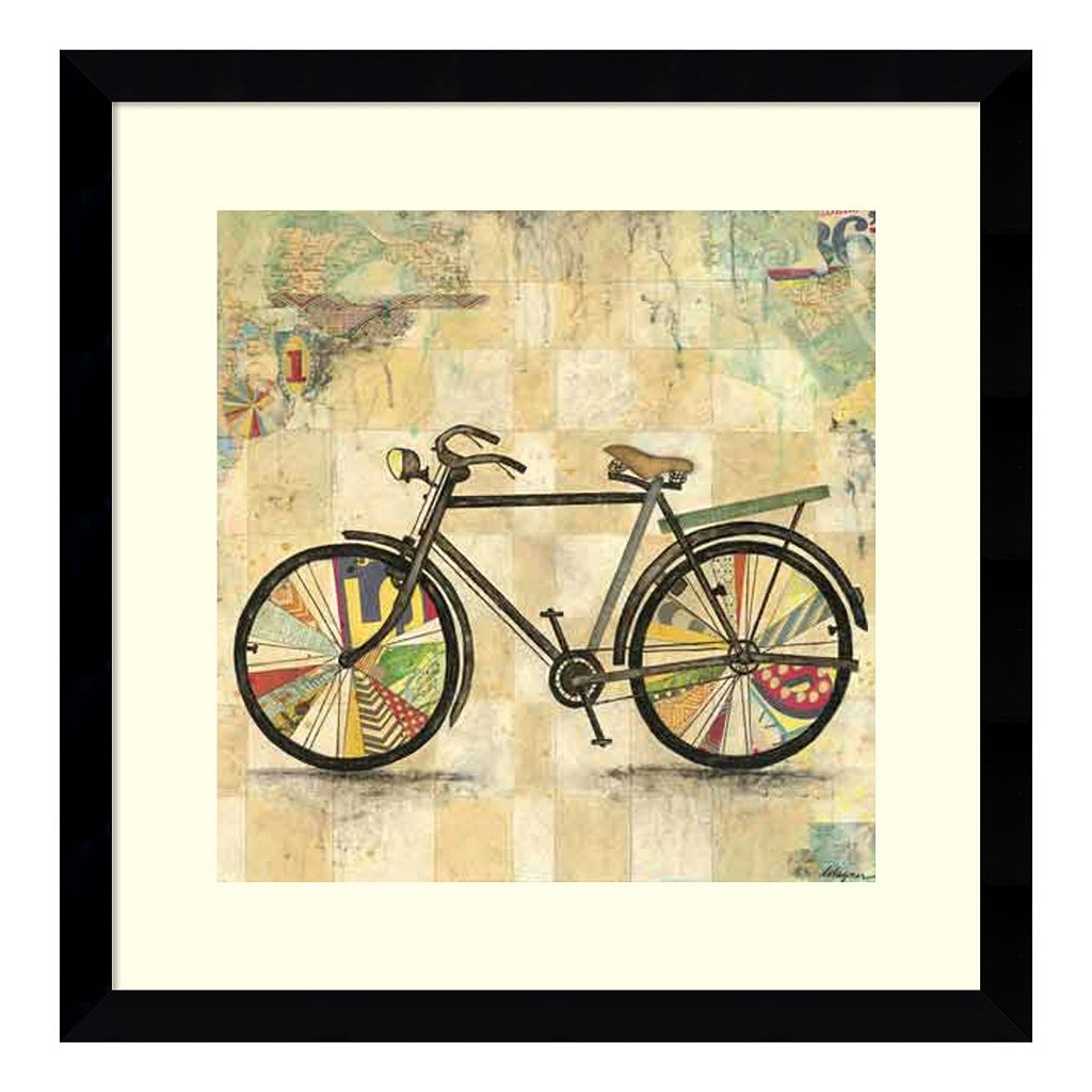 Amanti Art Ride 2 Framed Wall Art