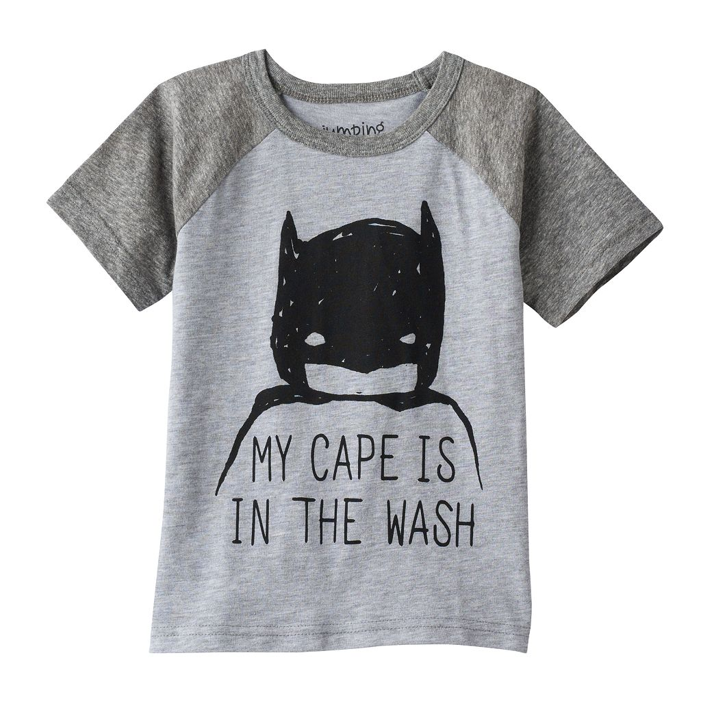 Toddler Boy Jumping Beans® DC Comics Batman Raglan Tee