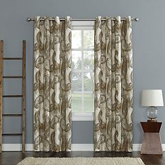 Sun Zero 1-Panel Presley Window Curtain