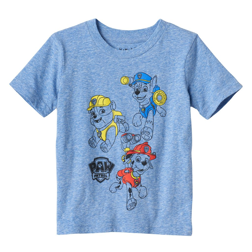 Toddler Boy Jumping Beans® Paw Patrol Marshall, Chase & Rubble Graphic Tee