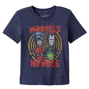 Toddler Boy Jumping Beans® Marvel's Heroes Captain American, Spider-Man, Hulk & Ironman Graphic Tee