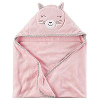 Baby Girl Carter's Bunny Hooded Towel