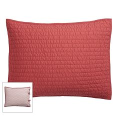 SONOMA Goods for Life™ Pick Stitch Reversible Sham