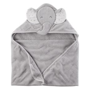 Baby Boy Carter's Elephant Hooded Towel