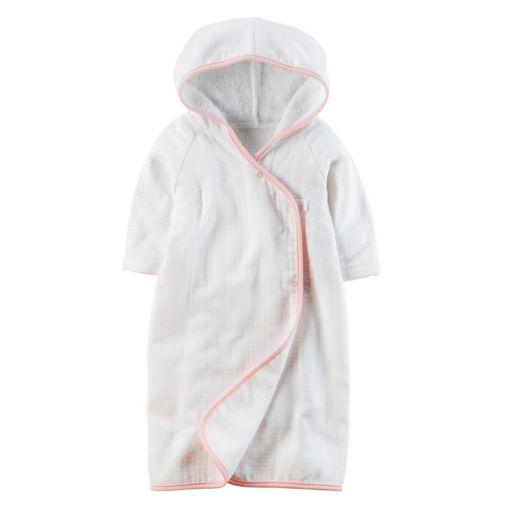 Baby Girl Carter's Striped Hooded Kimono Robe