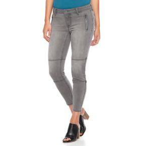 Women's Apt. 9® Moto Capri Jeans