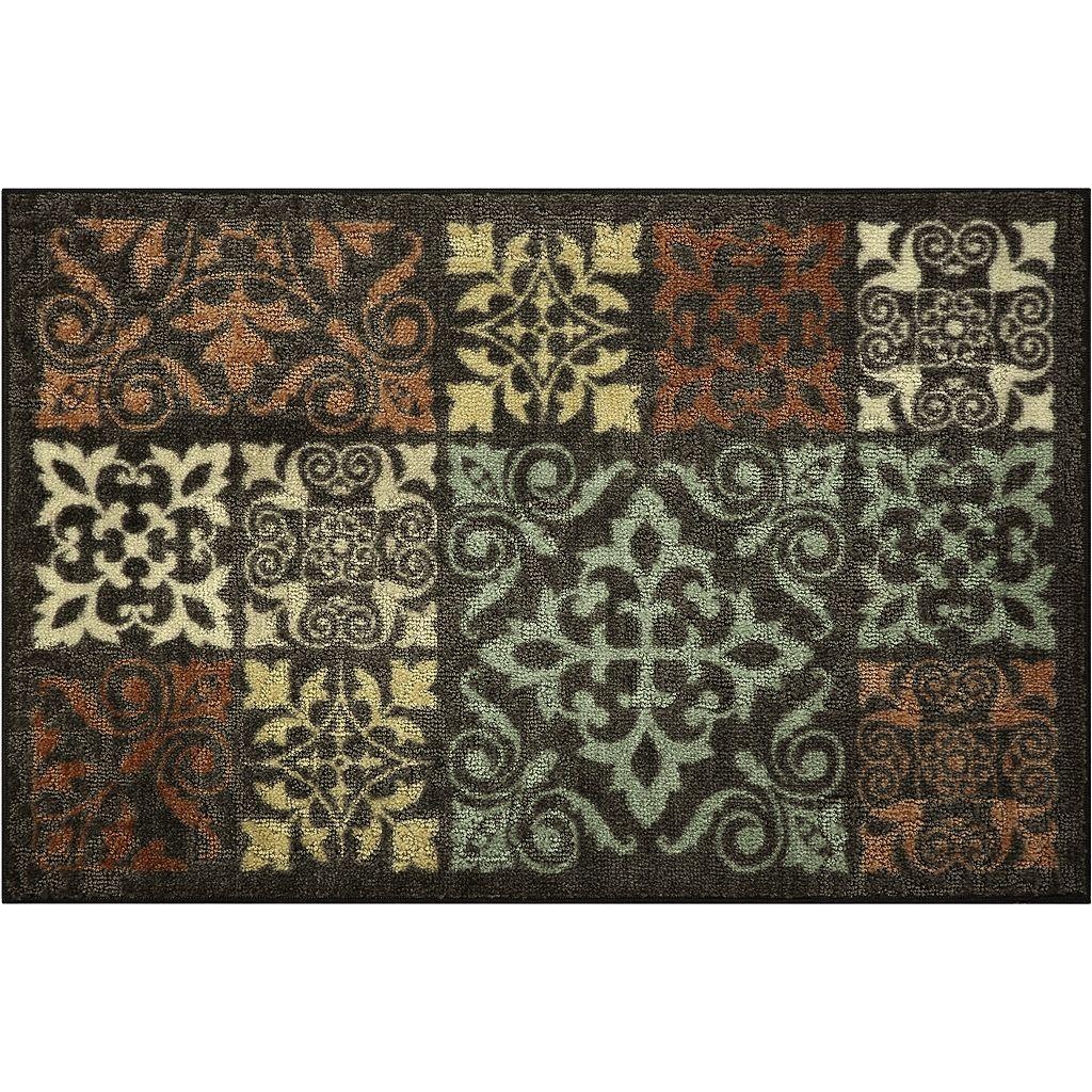 Maples Highland Celeste Ornate Patchwork Rug