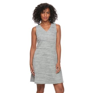 Women's Apt. 9® Ponte Fit & Flare Dress
