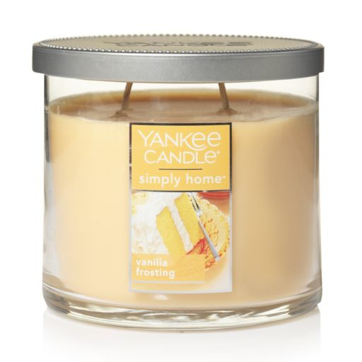 Yankee Candle simply home Vanilla Frosting 10-oz. Candle Jar