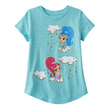 Girls 4-10 Jumping Beans® Shimmer & Shine Clouds Tee