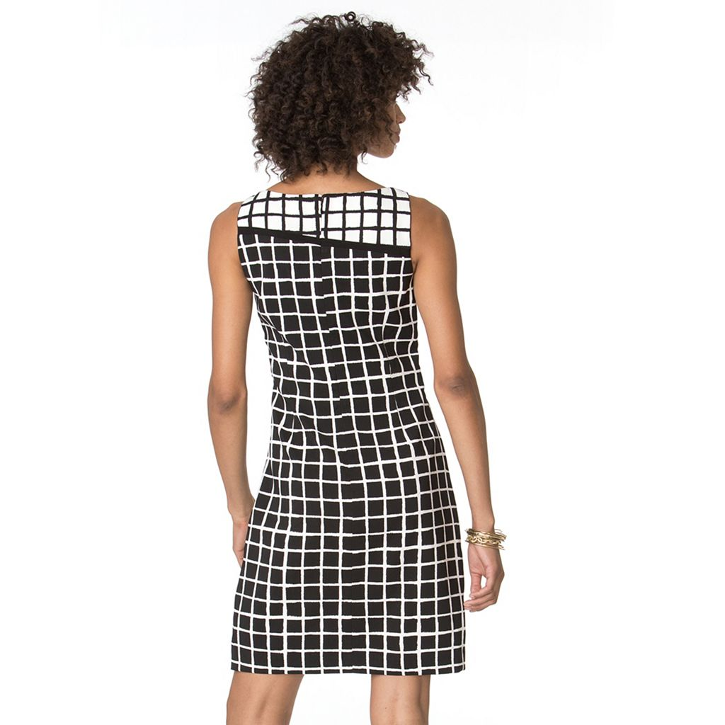 Women's Chaps Printed Sheath Dress
