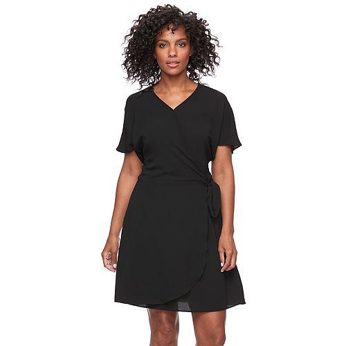 Womens Apt 9 Faux Wrap Dress