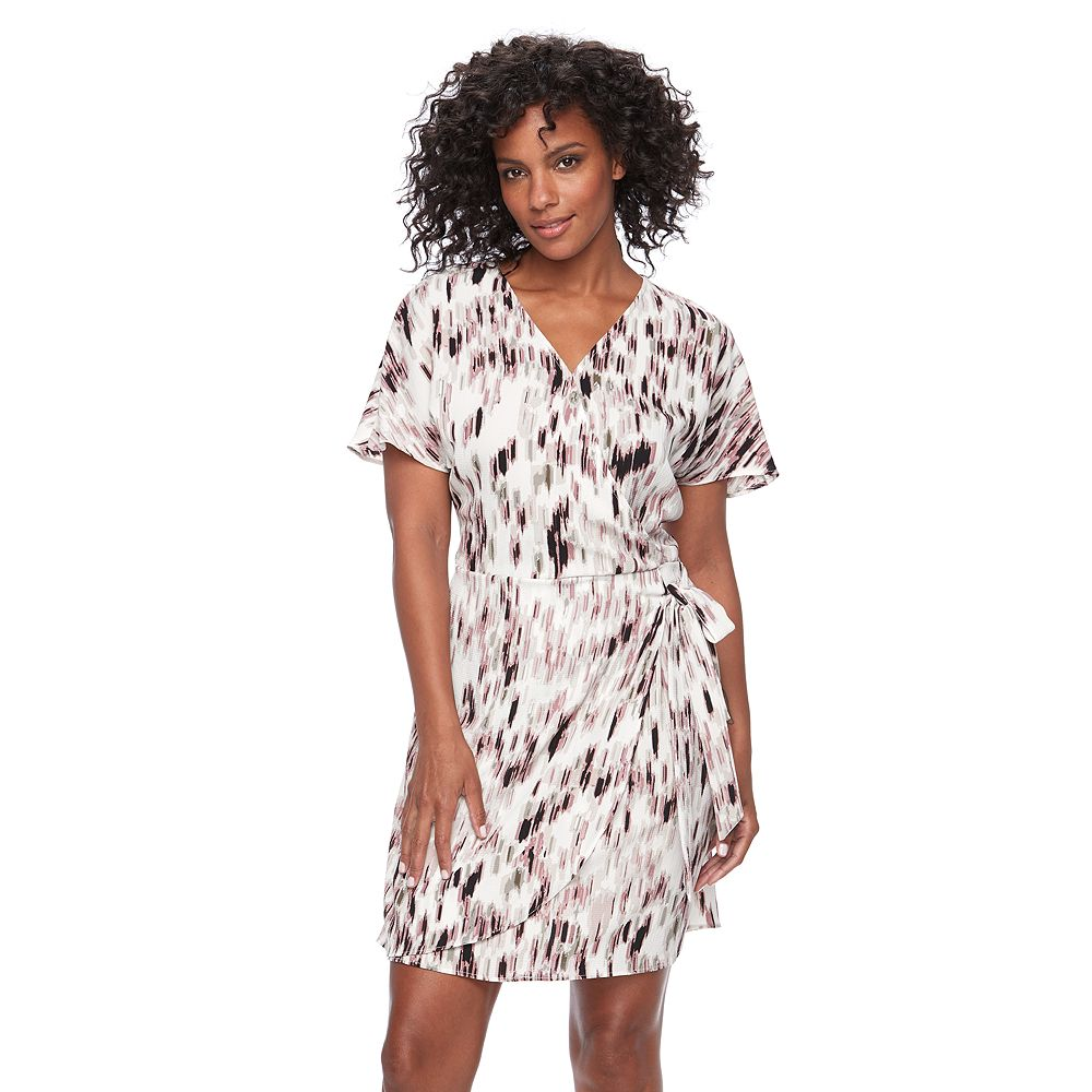 Apt. 9® Faux-Wrap Dress