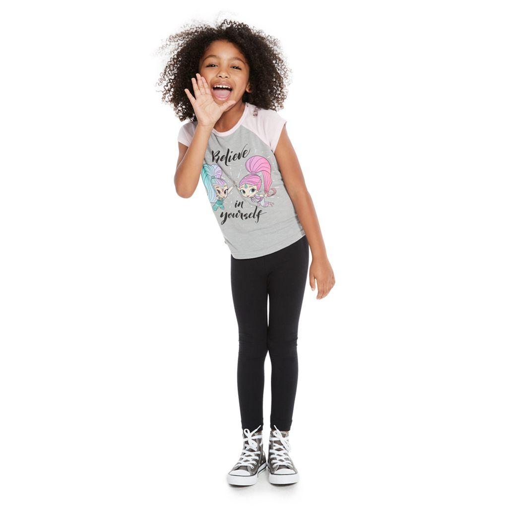 Girls 4-10 Jumping Beans® Shimmer & Shine