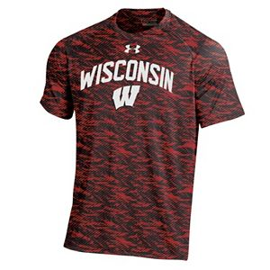 Men's Under Armour Wisconsin Badgers Tech Novelty Tee