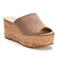 Style Charles by Charles David Clarissa Women's Platform Wedge Sandals