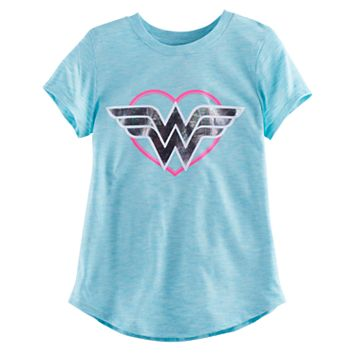 Girls 4-10 Jumping Beans® DC Comics Wonder Woman Heart Tee