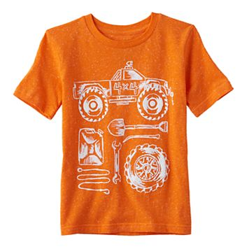 Boys 4-10 Jumping Beans® Trucks & Tools Nep Graphic Tee