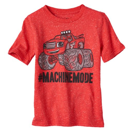 "Boys 4-10 Jumping Beans® Blaze & The Monster Machines ""#machinemode"" Graphic Tee"