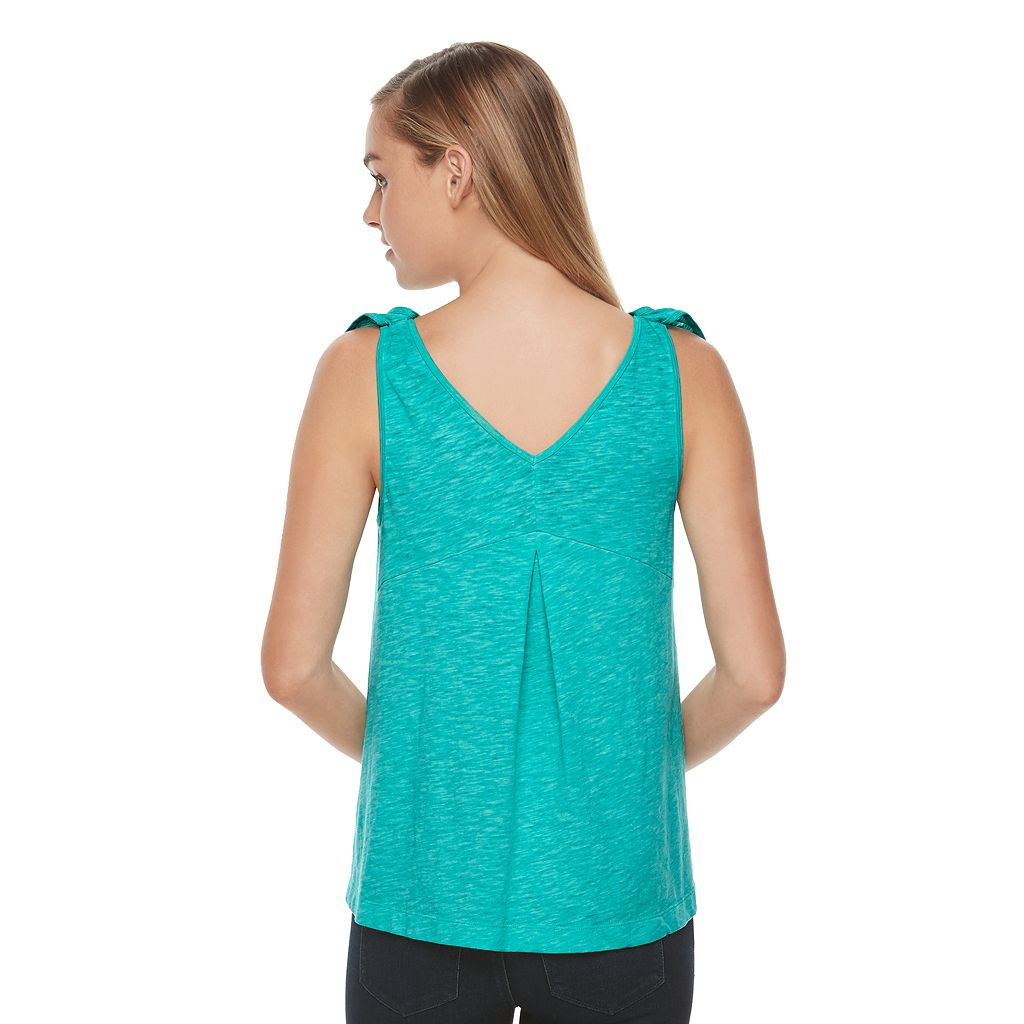 Women's SONOMA Goods for Life™ Bow Tank