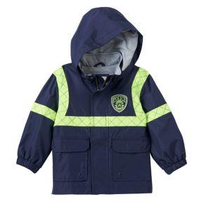 "Boys 4-7 Carter's ""Police"" Water-Resistant Lightweight Jacket"