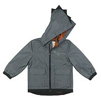 Boys 4-7 Carter's 3D Spike Dino Lightweight Rain Slicker Jacket