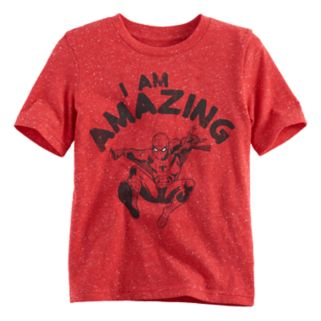 """Boys 4-10 Jumping Beans® Marvel Spider-Man """"I Am Amazing"""" Graphic Tee"""