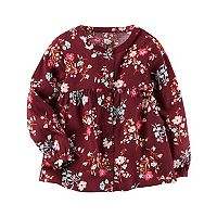 Girls 4-8 Carter's Floral Top