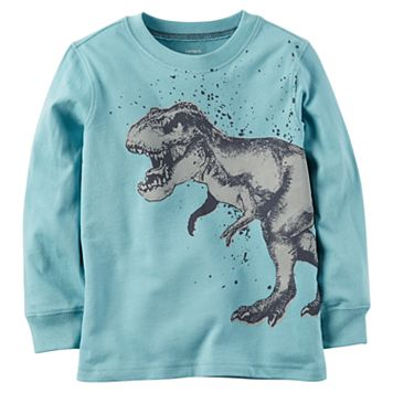 Boys 4-8 Carter's Dinosaur Long Sleeved Graphic Tee