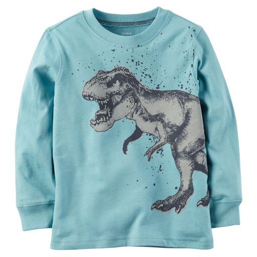 Boys 4-8 Carter's Dinosaur Long Sleeved Graphic Tee