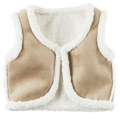 Girls 4-8 Carter's Fleece Sherpa Vest