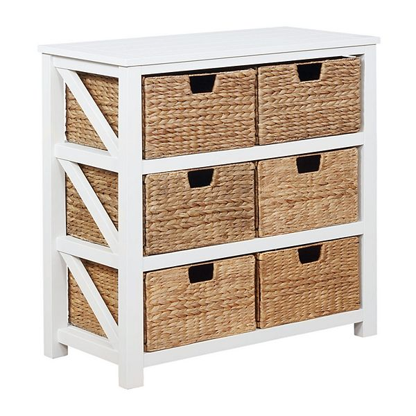 Sonoma Goods For Life® Cameron Basket Bookcase