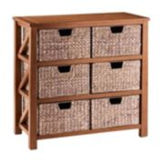 SONOMA Goods for Life™ Cameron Basket Bookcase