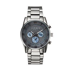 Akribos XXIV Men's Enterprise Crystal Stainless Steel Swiss Watch
