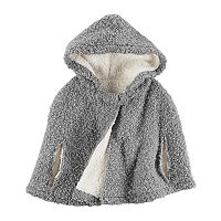 Girls 4-8 Carter's Grey Knit Poncho
