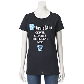 Juniors' Harry Potter Ravenclaw Short Sleeve Graphic Tee
