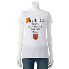 Juniors' Harry Potter Gryffindor 'Brave' Graphic Tee