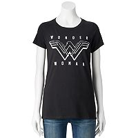 Juniors' DC Comics Wonder Woman Logo Graphic Tee
