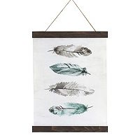 Feather Canvas Tapestry Wall Art