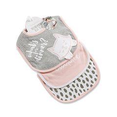 Baby Aspen 3-pk. Graphic & Print Bibs