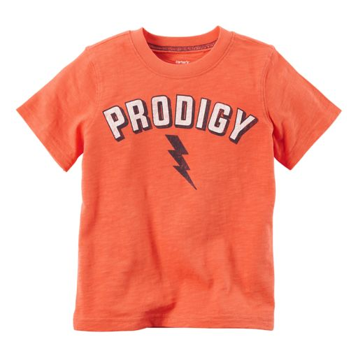 """Boys 4-8 Carter's """"Prodigy"""" Graphic Tee"""