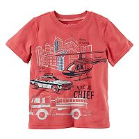 Boys 4-8 Carter's Rescue Slubbed Graphic Tee
