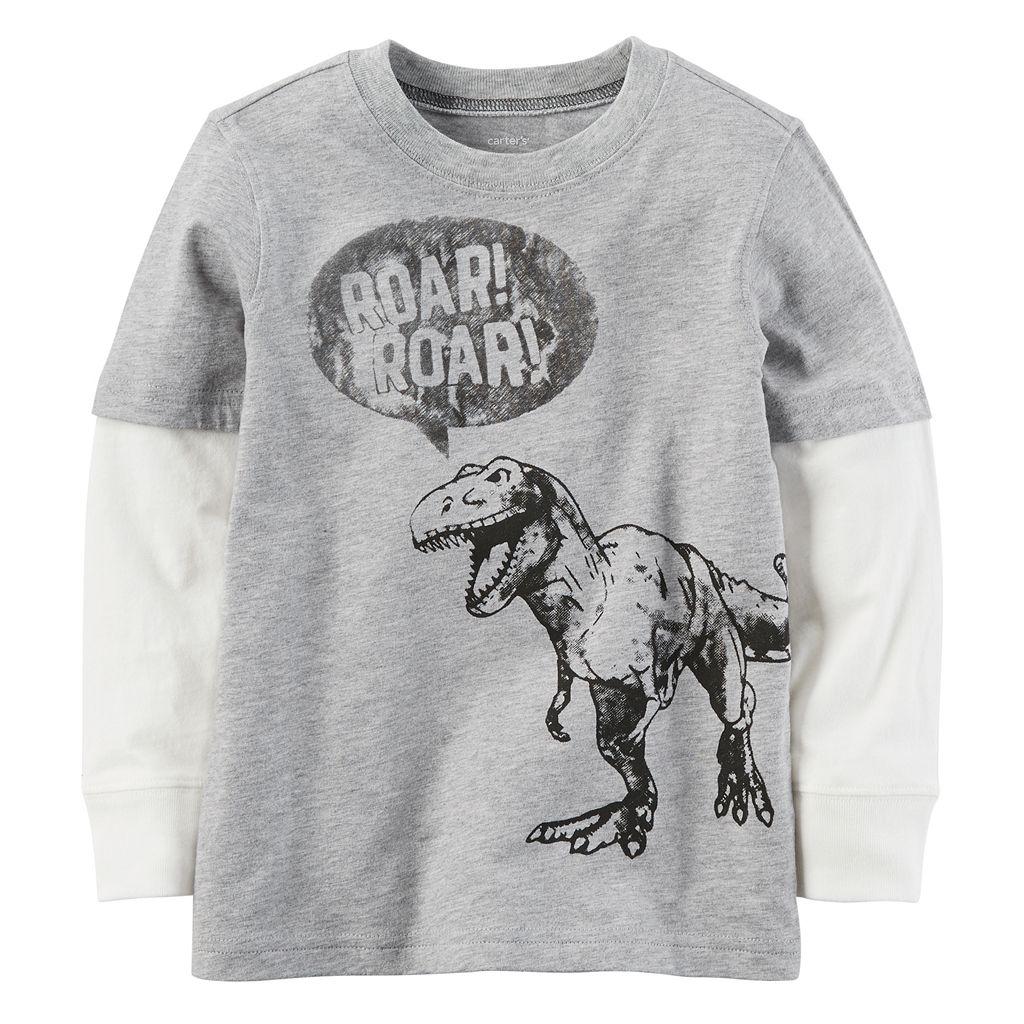 Boys 4-7 Carter's Dinosaur