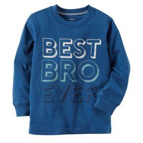 """Boys 4-8 Carter's """"Best Bro Ever"""" Graphic Tee"""