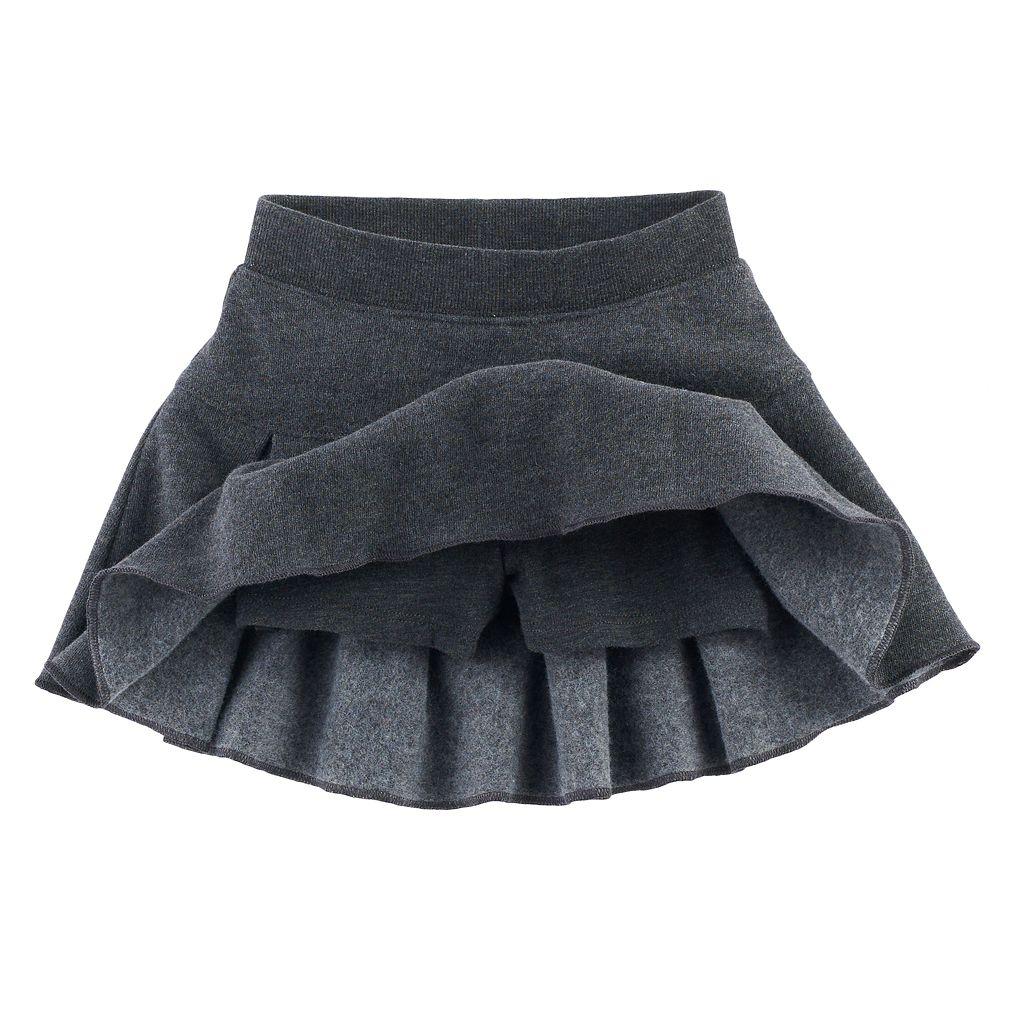 Toddler Girl Jumping Beans® Pleated Fleece Skort