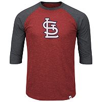 Big & Tall Majestic St. Louis Cardinals Baseball Tee