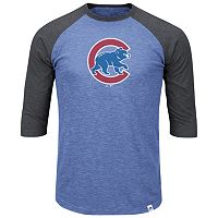 Big & Tall Majestic Chicago Cubs Baseball Tee