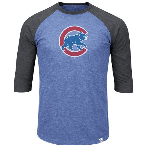 buy online 60e68 a639c Big & Tall Majestic Chicago Cubs Baseball Tee