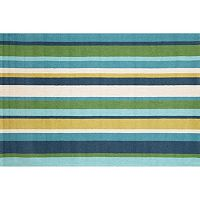 Liora Manne Newport Vertical Stripe Indoor Outdoor Rug